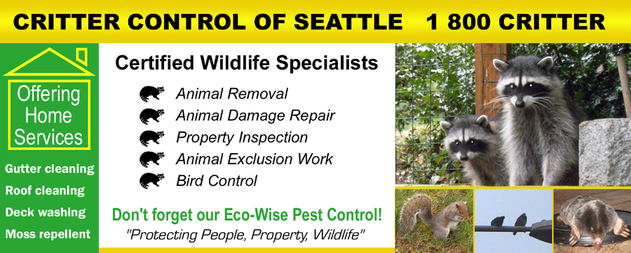Critter Control of Seattle Services
